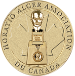 Horatio Alger Association Canada médaillon
