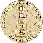 Horatio Alger Association Canada medallion