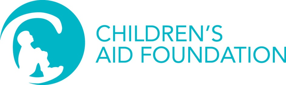 Children's Aid Foundation Logo